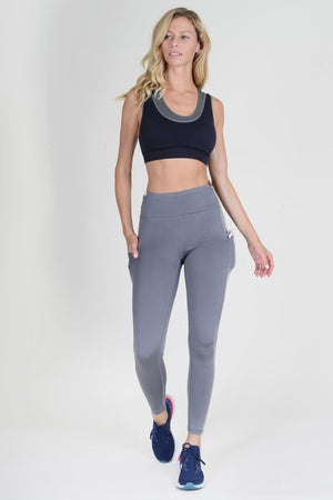 Women's High Waist Tech Pocket Workout Leggings | 2 Colors