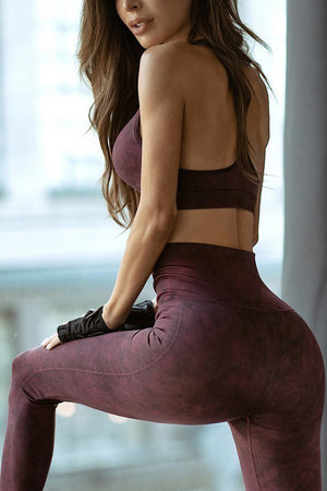 2-pc Fashion Seamless Activewear Set