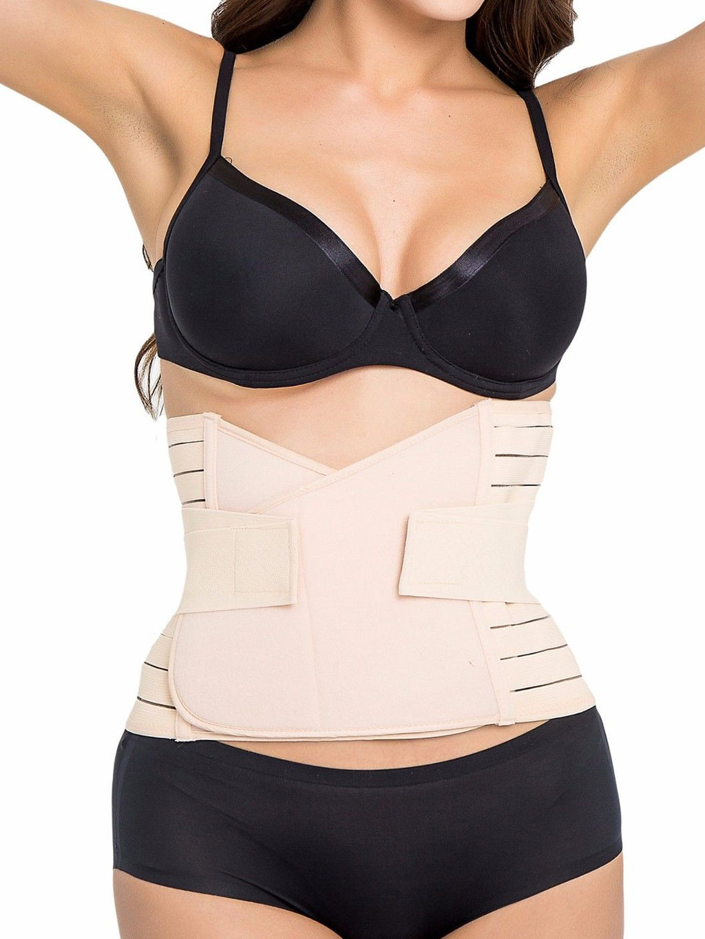 NEW Women Waist Trainer Slimming Belt With Double Elastic Straps
