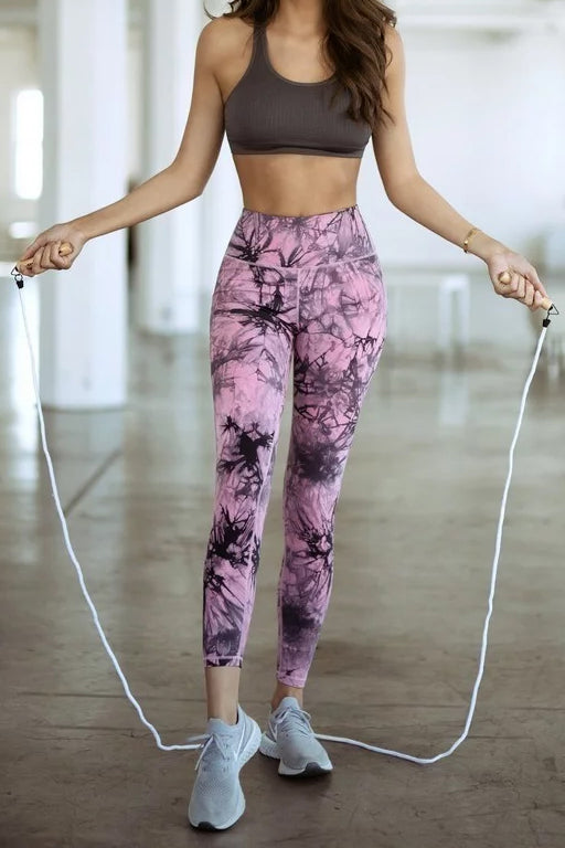 Tie-Dye Patterned Leggings