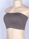 Free Size Seamless & Smooth Tube Bandeau Bra (6pcs/PACK)