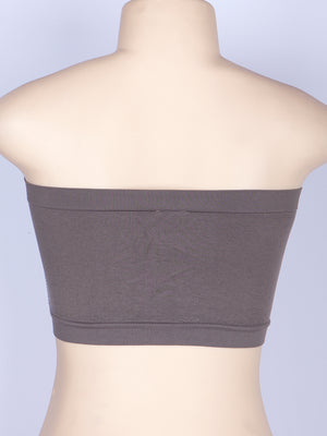 Free Size Seamless & Smooth Tube Bandeau Bra (3pcs/PACK)