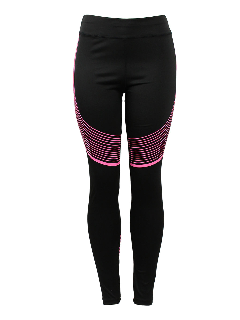 Pink Wave Line Active/Fitness Pants