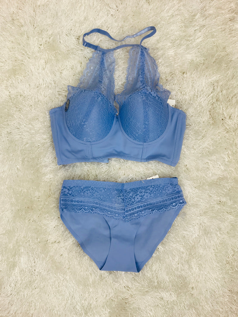 Halter Top bralette and Underwear set