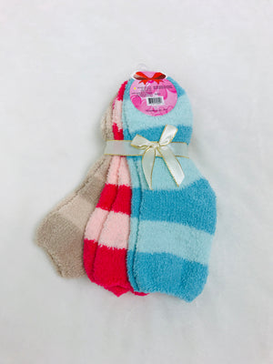 Cozy Stripe Socks Bundle