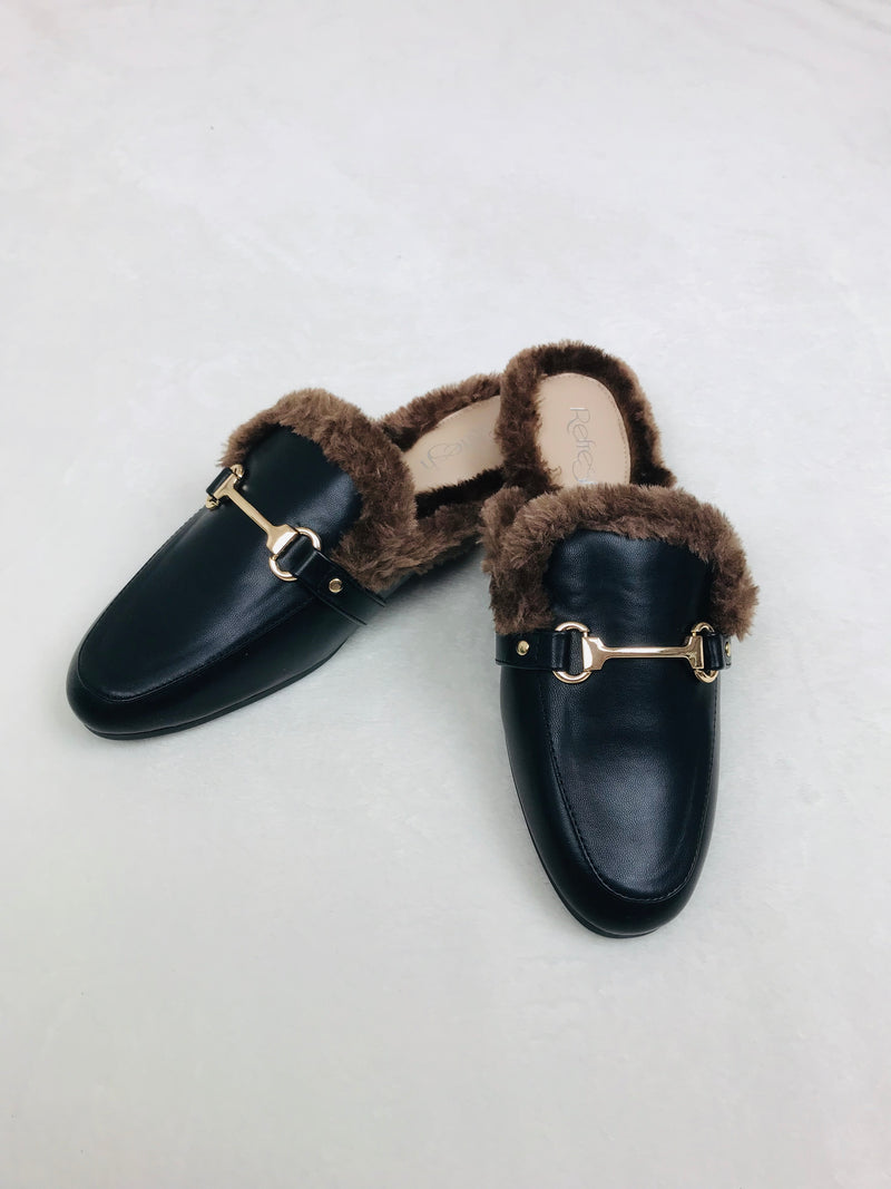 Trending Slip-On Furry Shoes