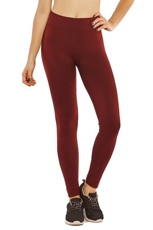 Seamless Fleece Free Size Leggings