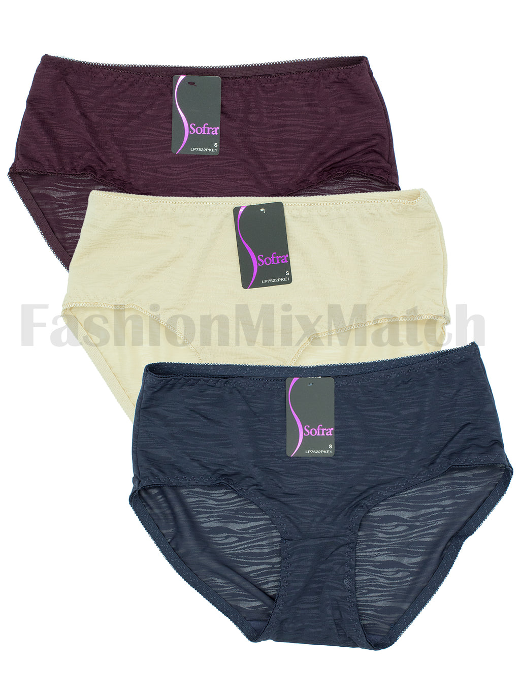 Sexy Wave Hiphugger Panty (3pcs/PACK)