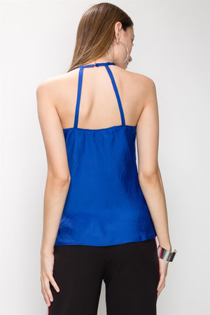 Strappy Halter Neck Sexy Sleeveless Top