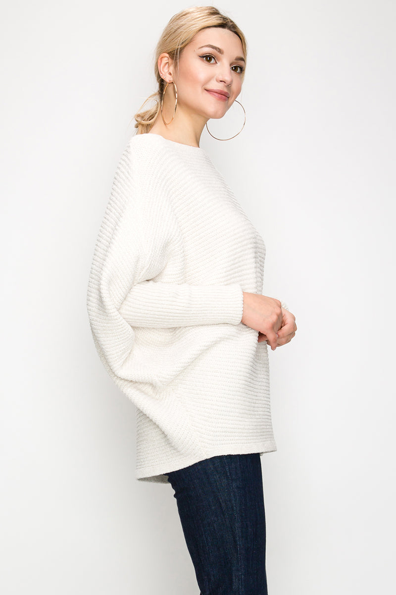 Solid Knit Sweater | 3 Colors Available