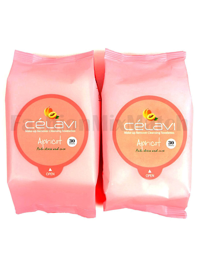 CELAVI Make-up Remover Cleansing Towelettes / Choose your favorite