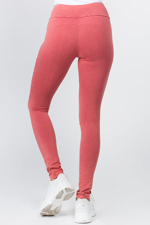 Pleat Leggings | 4 Colors