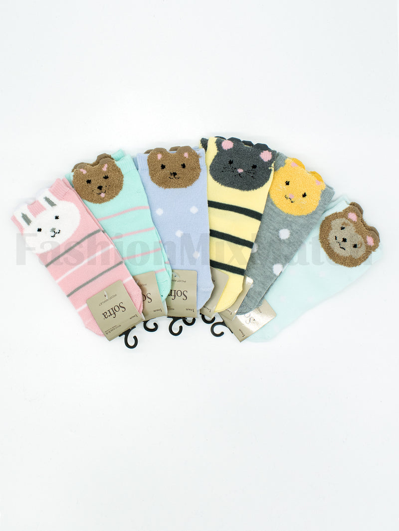 Animal Character Socks/ Choose Your Favorite