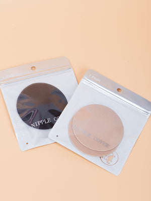 Round Reusable Nipples Cover (2 pairs)| Available in 2 Colors