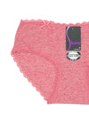 Lace Ribbon Cotton Panty (3pcs/PACK)