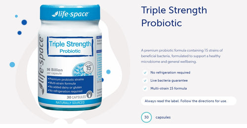 Life Space Triple Strength Probiotic