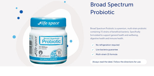 Life Space Broad Spectrum Probiotic
