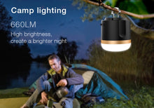 7200mAh Lithium Battery Waterproof Led Rechargeable multifunctional Camping Light