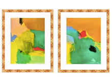 """In Like a Lion"" Diptych"