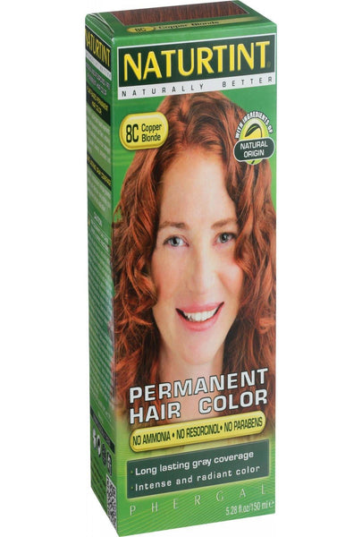 Naturtint Hair Color - Permanent - 8c - Copper Blonde - 5.28 Oz