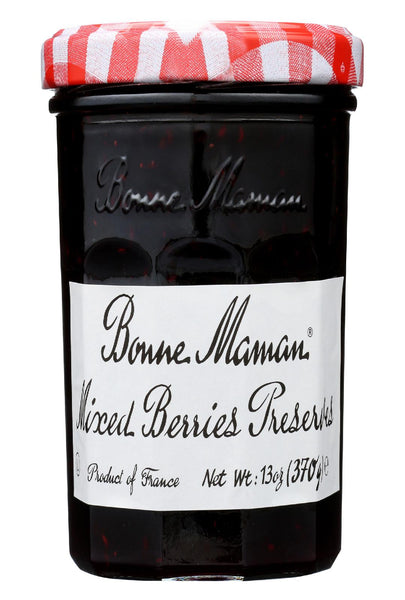 Bonne Maman Conserve - Mixed Berries - Case Of 6 - 13 Oz.