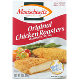 Manischewitz Seasoned Coating Crumb Mix - Original Chicken Roasters - 3 Oz - Case Of 12