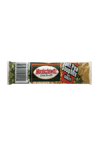 Manischewitz Cello Split Pea Barley Soup Mix - Case Of 24 - 6 Oz.