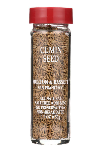 Morton And Bassett Seasoning - Cumin Seed - 2 Oz - Case Of 3
