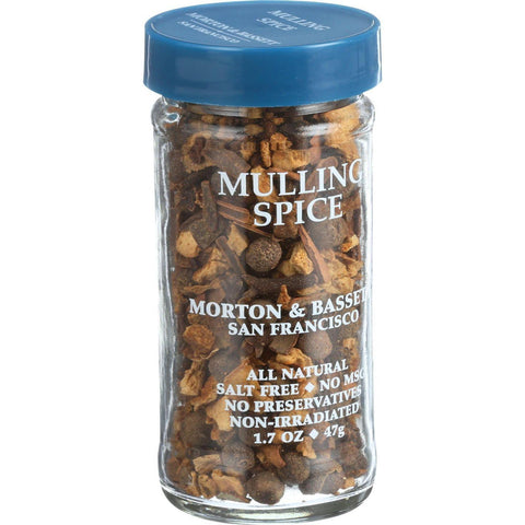Morton And Bassett Seasoning - Mulling Spice - 1.7 Oz - Case Of 3