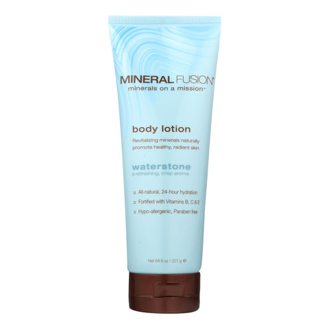Mineral Fusion - Mineral Body Lotion - Waterstone - 8 Fl Oz.