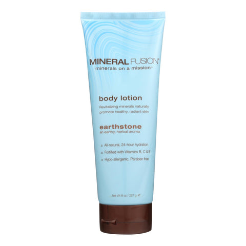 Mineral Fusion - Mineral Body Lotion - Earthstone - 8 Fl Oz.