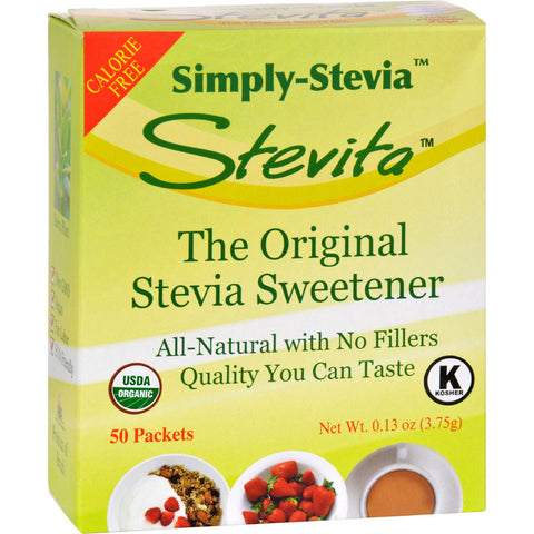 Stevita Simply Stevia - No Fillers - .13 Oz