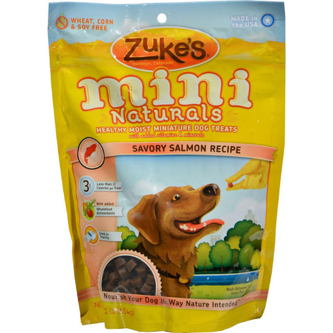 Zuke's Mini Naturals Dog Treats Salmon - 16 Oz