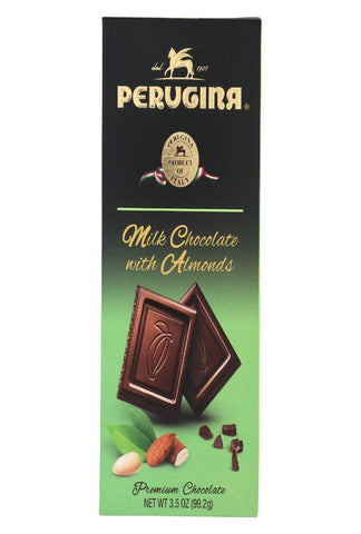 Perugina Candy - Milk Chocolate With Almonds - Case Of 12 - 3.5 Oz