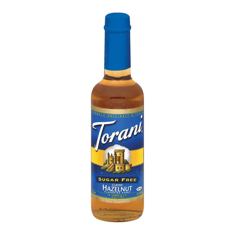Torani Coffee Syrup - Hazelnut, Sugar Free - Case Of 6 - 12.7 Fl Oz.