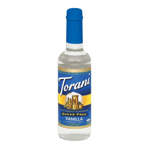 Torani Coffee Syrup - Vanilla, Sugar Free - Case Of 6 - 12.7 Fl Oz.
