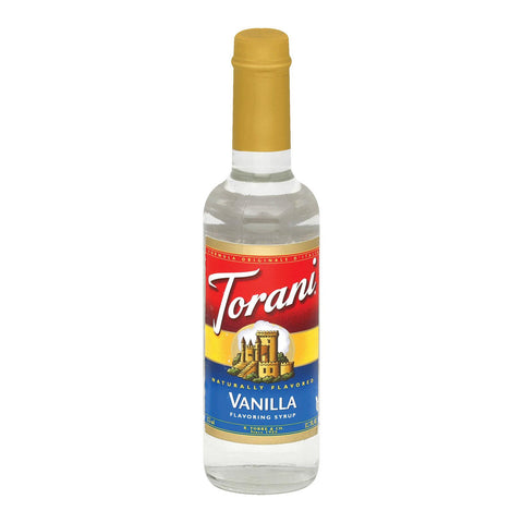 Torani Coffee Syrup - Vanilla - Case Of 6 - 12.7 Fl Oz.