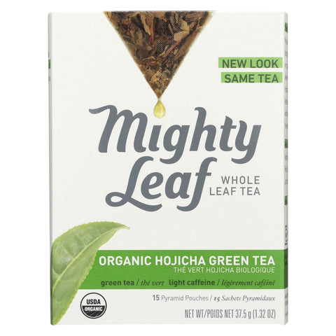 Mighty Leaf Tea Green Tea - Organic Hojicha - Case Of 6 - 15 Bags