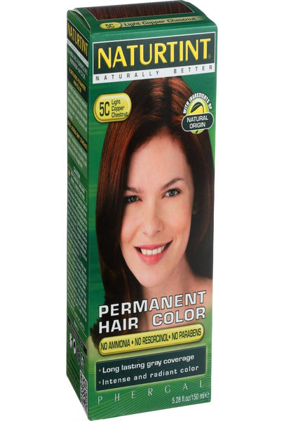 Naturtint Hair Color - Permanent - 5c - Light Copper Chestnut - 5.28 Oz