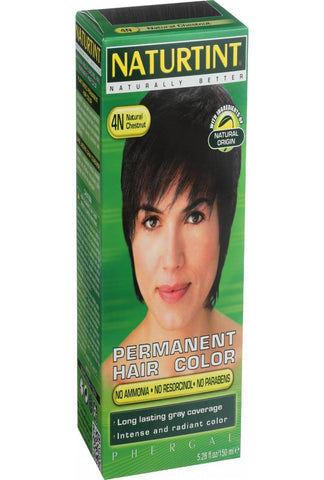 Naturtint Hair Color - Permanent - 4n - Natural Chestnut - 5.28 Oz