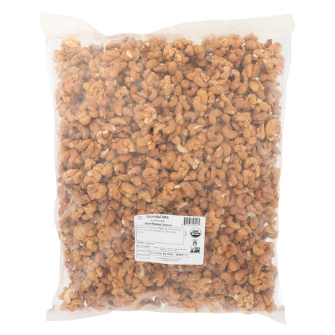 Grandy Oats Roasted Cashews - Maple - Case Of 10 - 1 Lb.