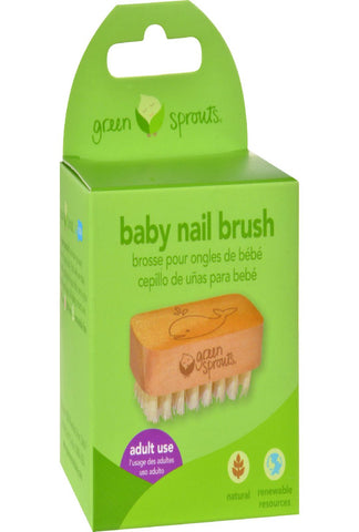 Green Sprouts Nail Brush