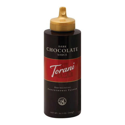 Torani Mocha Sauce - Chocolate - Case Of 6 - 16.5 Oz.