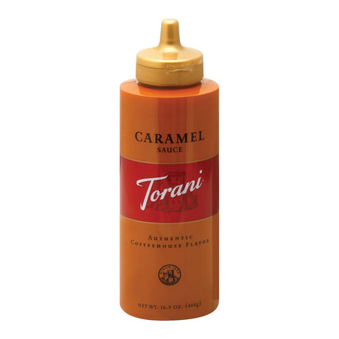 Torani Caramel Sauce - Mocha - Case Of 6 - 16.5 Oz.