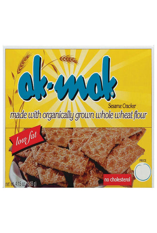 Ak Mak Bakeries Armenian Bread - Sesame Crackers - Case Of 12 - 4.15 Oz.