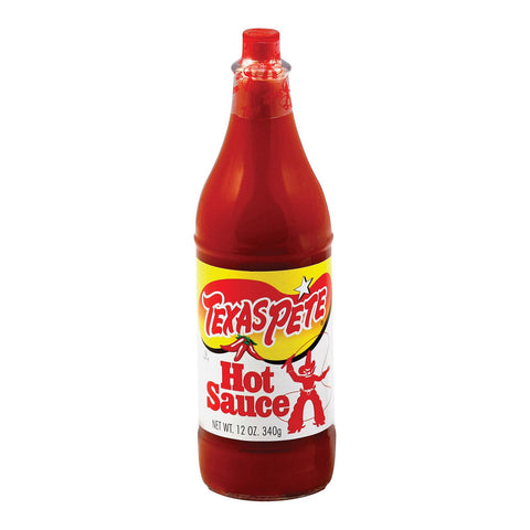 Texas Pete Sauce - Hot - Case Of 12 - 12 Fl Oz