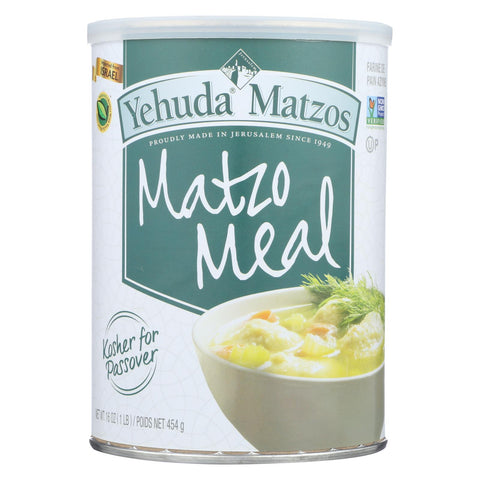 Yehuda Matzo Meal - Passover - Case Of 12 - 16 Oz