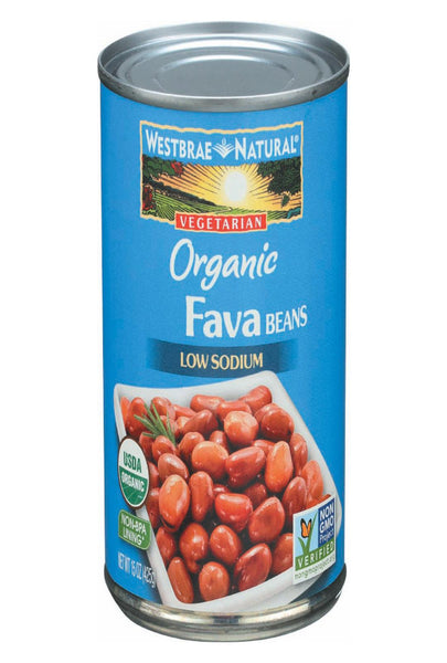Westbrae Foods Fava Beans - Fava Beans - Case Of 12 - 15 Oz.