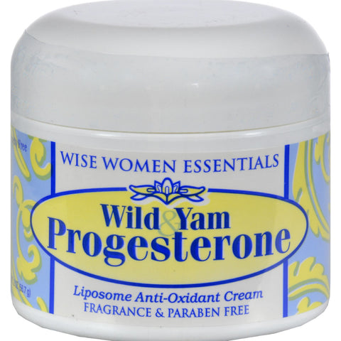 Wise Essential Wild Yam And Progesterone Cream - 2 Oz