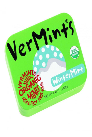 Vermints Breath Mints - All Natural - Wintermint - 1.41 Oz - Case Of 6